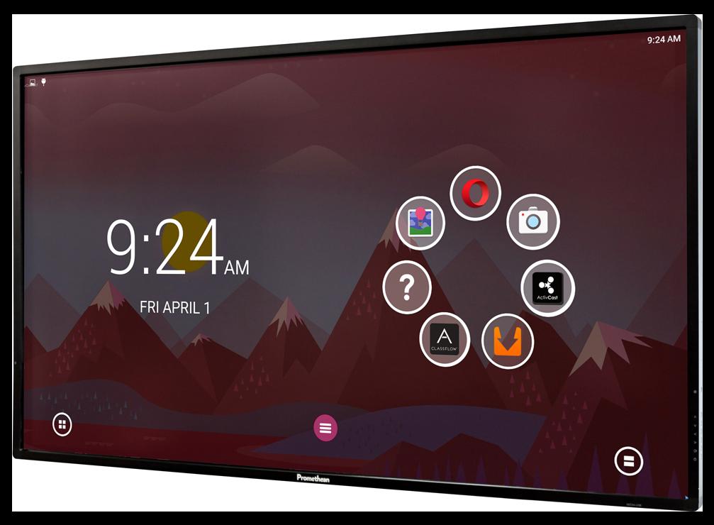 ecran 4K panel touch