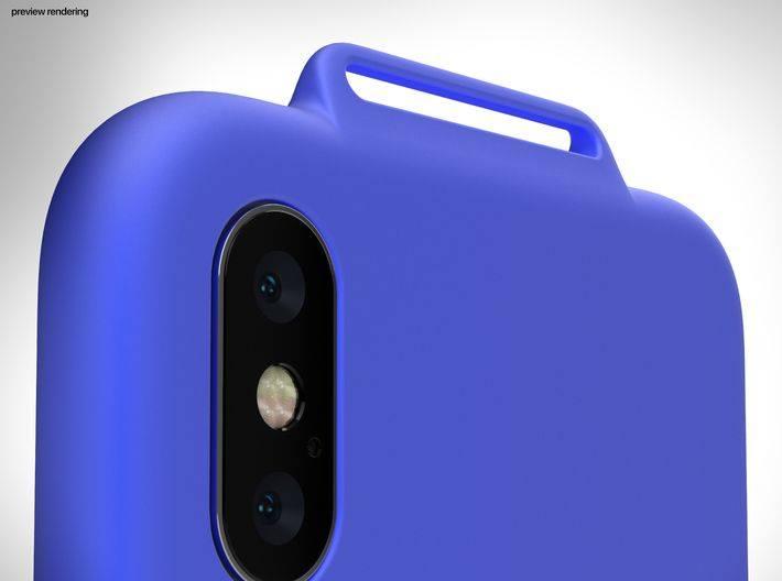 logiciel imprimante 3D coque iphone x